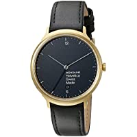 Mondaine Light Black Dial Mens Watch