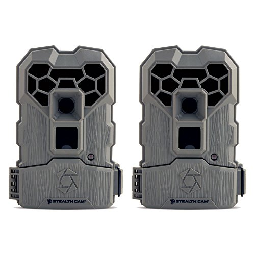 Stealth Cam 10MP Infrared Hunting Scouting Game Trail Camera w/ Video, 2 - Sets Stealth