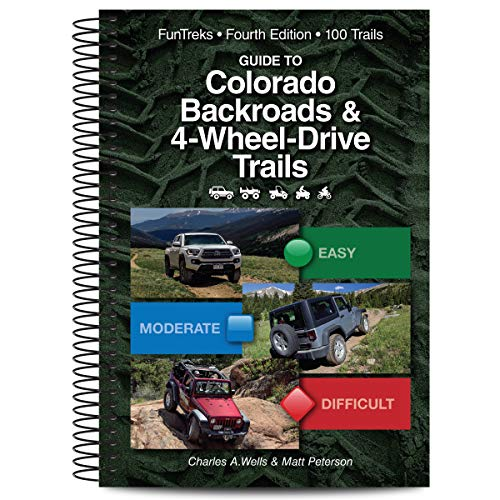 Colorado Road Map - Guide to Colorado Backroads & 4-Wheel-Drive Trails, 4th Edition