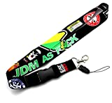 JDM Racing Drift Lanyard Neck Cell Phone Key Chain Strap Quick Release