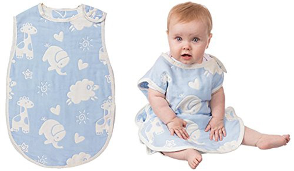 6-Layers Wearable Baby Sleep Bags Blanket For Babies and Toddlers