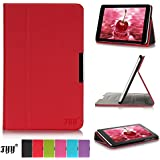 Lenovo Tab A8-50 Case, Fyy® Slim Fit Folio Stand PU Leather Case Cover for Lenovo Idea Tab A8-50 8 Inch Red (Only for Tab A8-50, Not for Tab2 A8-50)