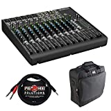 Best Mackie Mixer Bands - Mackie 1402VLZ4 14-Channel Compact Mixer with G-MIXERBAG-1515 Padded Review