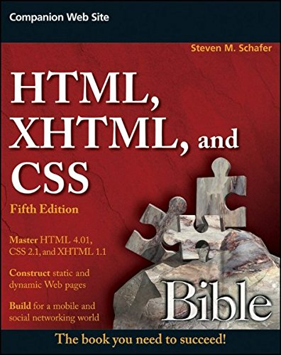 HTML, XHTML, and CSS Bible by Wiley