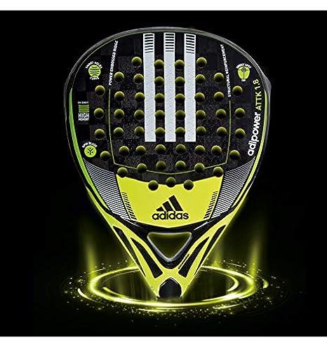 Amazon.com: adidas raqueta padel padle Adipower attk 1.8 ...