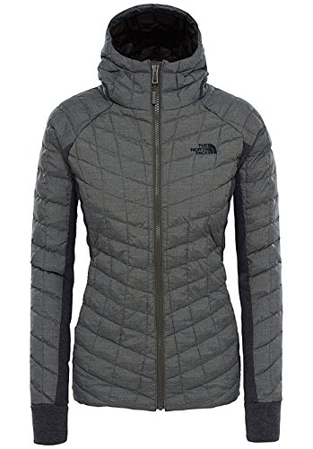 The North Face W Thermoball Gordon Lyons Hoodie - Chaqueta para mujer Newtaupegreen/TNFwhitehtr