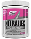 GAT Clinically Tested Nitraflex, Testosterone Enhancing Pre Workout, Watermelon, 300 Gram