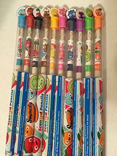 Smencils Scented Pencils, All 10 Scents