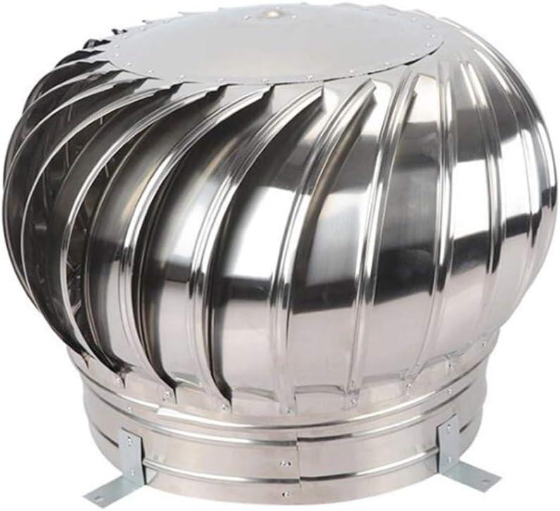 LTLCBB Extractor de Humo pivotantes, Aspirador Sombrero eolico para chimeneas Estufa de Acero Inoxidable, Base Cuadrada, Todas Las Dimensiones,500mm