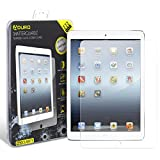 iPad 2/3 / 4 Tempered Glass Screen Protector - Aduro Shatterguardz Anti-Scratch, Anti-Fingerprint Coating, Ultra-Sensitive Touch Tech for Apple iPad 2/3 / 4
