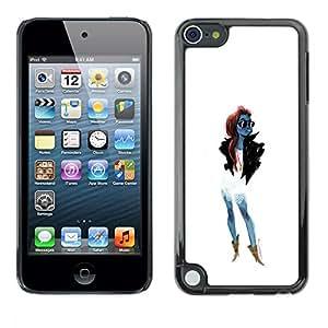 Be Good Phone Accessory // Dura Cáscara cubierta Protectora Caso Carcasa Funda de Protección para Apple iPod Touch 5 // Trendy Woman Girl Fashionable Sunglasses