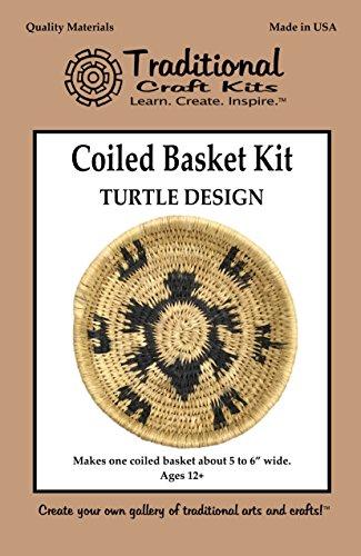 Coiled Basket Kit - Turtle -