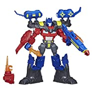 Transformers Hero Mashers Electronic Optimus Prime Figure