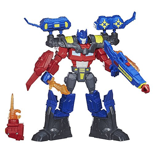 Optimus Prime Electronic (Transformers Hero Mashers Electronic Optimus Prime Figure)