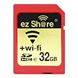 Ez Share WiFi Sd Card Flash 32G Capacity Sdhc Sdxc Memory Sd Card 4G 8G 16G C10 Camera (32GB)