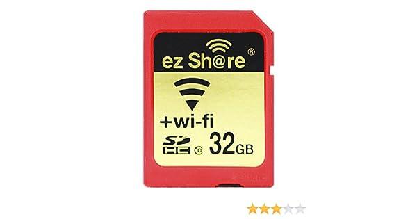 Ez Share - Tarjeta de Memoria SD para cámara WiFi (32 G, Sdhc, Sdxc, 4G, 8G, 16G, C10) 32 GB