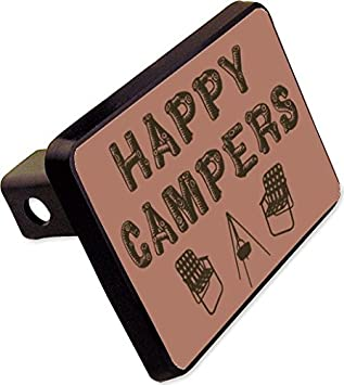 Let´s Be Adventurers Tent Camping Night Stars Metal Vanity Tag License Plate