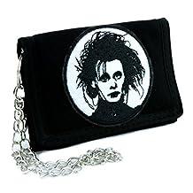 Edward Scissorhands Tri-fold Wallet Gothic Clothing Johnny Depp Tim Burton