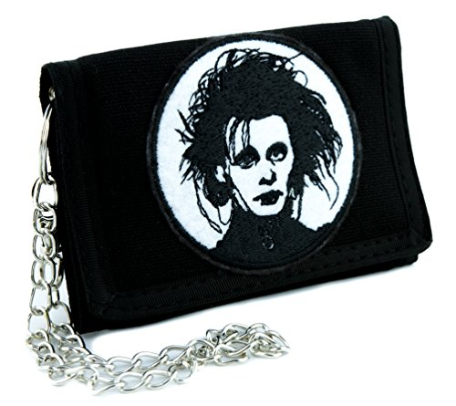 Edward Scissorhands Tri-fold Wallet Gothic Clothing Johnny Depp