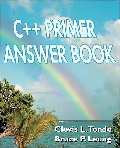 C   Primer (5th Edition) free