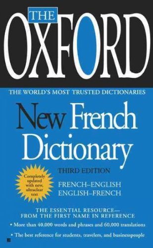 Oxford New French Dictionary
