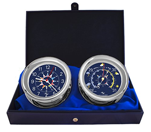Master-Mariner Blue Mariner Collection, Nautical Windlass Gift Set, 5.85
