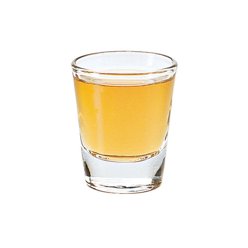 Libbey 5120 Whiskey Service 1.5 Ounce Lined Glass - 72 / CS