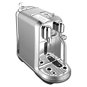 Breville BNE800BSS Nespresso Creatista Plus, Silver