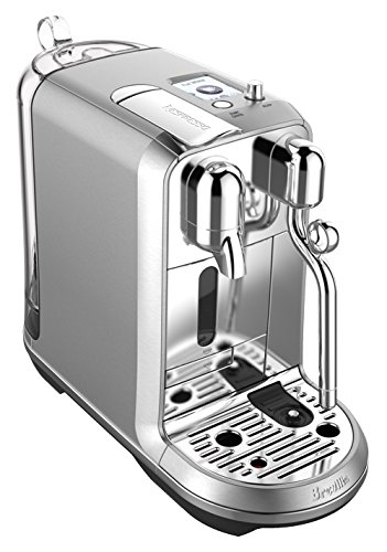 Breville Stainless Steel Espresso Maker - Nespresso Creatista Plus Coffee and Espresso Machine by Breville, Stainless Steel