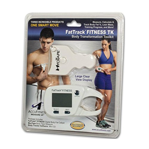 AccuFitness Fat Track Fitness Body Transformation Toolkit, 6.4 Ounce by Fat Track