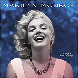 Marilyn Monroe Wall Calendar 2019 Mead 0842988168194 Amazon Com