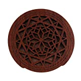 D DOLITY Wooden Guitar Hollow Soundhole Cover Block for Acoustic Folk Guitar EQ