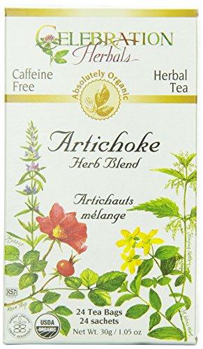 CELEBRATION HERBALS Artichoke Blend Organic 24 Bag, 0.02 Pound