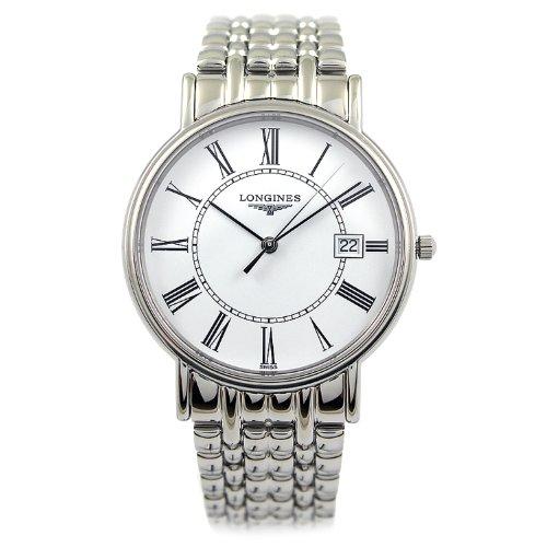 Longines La Grande Classique Presence White Dial Steel Mens Watch L4.790.4.11.6 ()