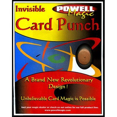 Murphy's Magic Invisible Card Punch by Dave Powell - Trick