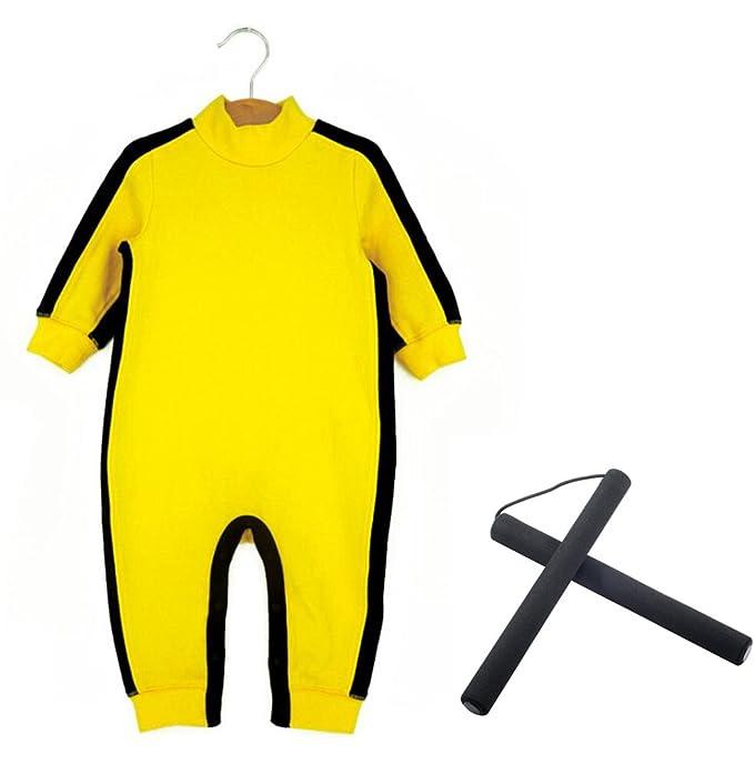Aircee (TM) bebé Pelele traje de ropa para mujer amarillo Mono para bebés: Amazon.es: Ropa y accesorios