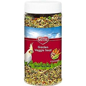 Kaytee Garden Veggie Cockatiel Treat, 10-oz jar