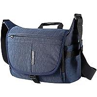 Kissfairy Large Capacity Camera Bag Laptop Bag Waterproof Shoulder Bag for SLR / DSLR Camera and Accessories(Blue-L)