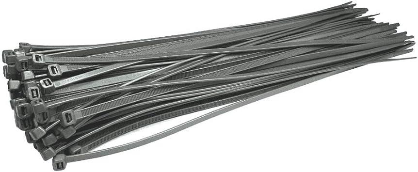 grande r/ésistance /à la traction ultra r/ésistants de qualit/é industrielle 80 kg Lot de 30 colliers de serrage r/ésistants pour c/âble 580 mm x 12 mm Noir