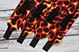 Polo Wraps/Stable Wraps, Set of 4 Fire/Flames