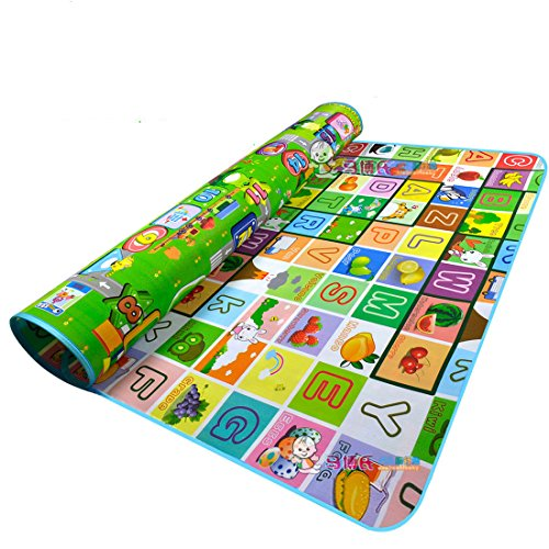 Garwarm 71*59inches Extra Large Baby Crawling Mat Baby Play Mat Game Mat,0.2-Inch Thick