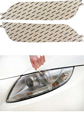 02 Clear Headlight Protection - Lamin-x B505CL Headlight Cover
