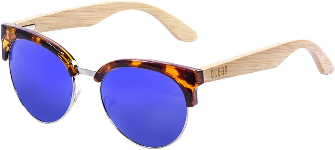 Ocean Eye Gafas de Sol, Unisex Adulto, Marrón (Havana), 52