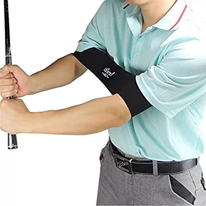 Miss W Golf Smooth Swing Training Arm Band Golf Hand Posture Corrector Training Belt Great Aid To Take A More Efficient Swing