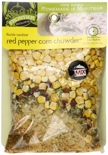 Frontier Soups Homemade In Minutes Chowder Mix, Florida Sunshine Red Pepper Corn, 5 Ounce (Potato And Corn Chowder)