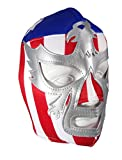 PATRIOT AMERICA Adult Lucha Libre Wrestling Mask (pro-fit) Costume Wear - Stripes