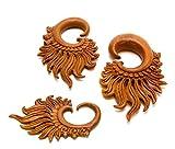 Elementals Organics Mermaid Crown Saba Wood Hanger - Price Per 1-6mm ~ 2g