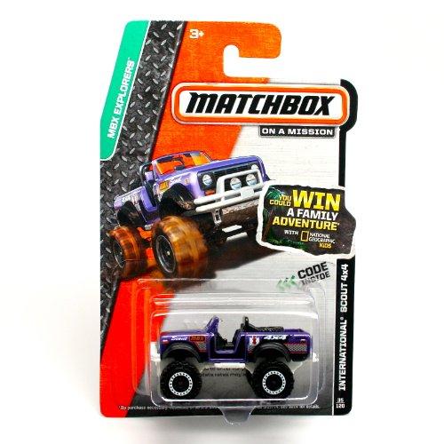 Matchbox 2014 MBX Explorers International Scout 4x4 in Purple