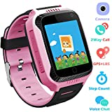 Kids Smartwatches Phone for Boys Girls - GPS Locator Fitness Tracker Watch