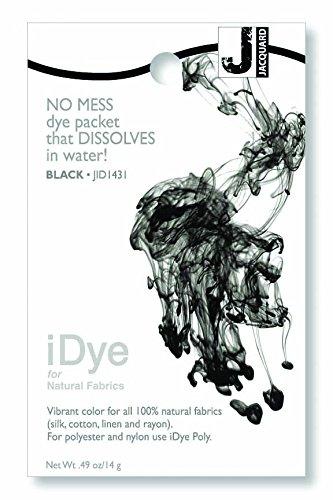 Jacquard iDye Fabric Dye 14 Grams-Black